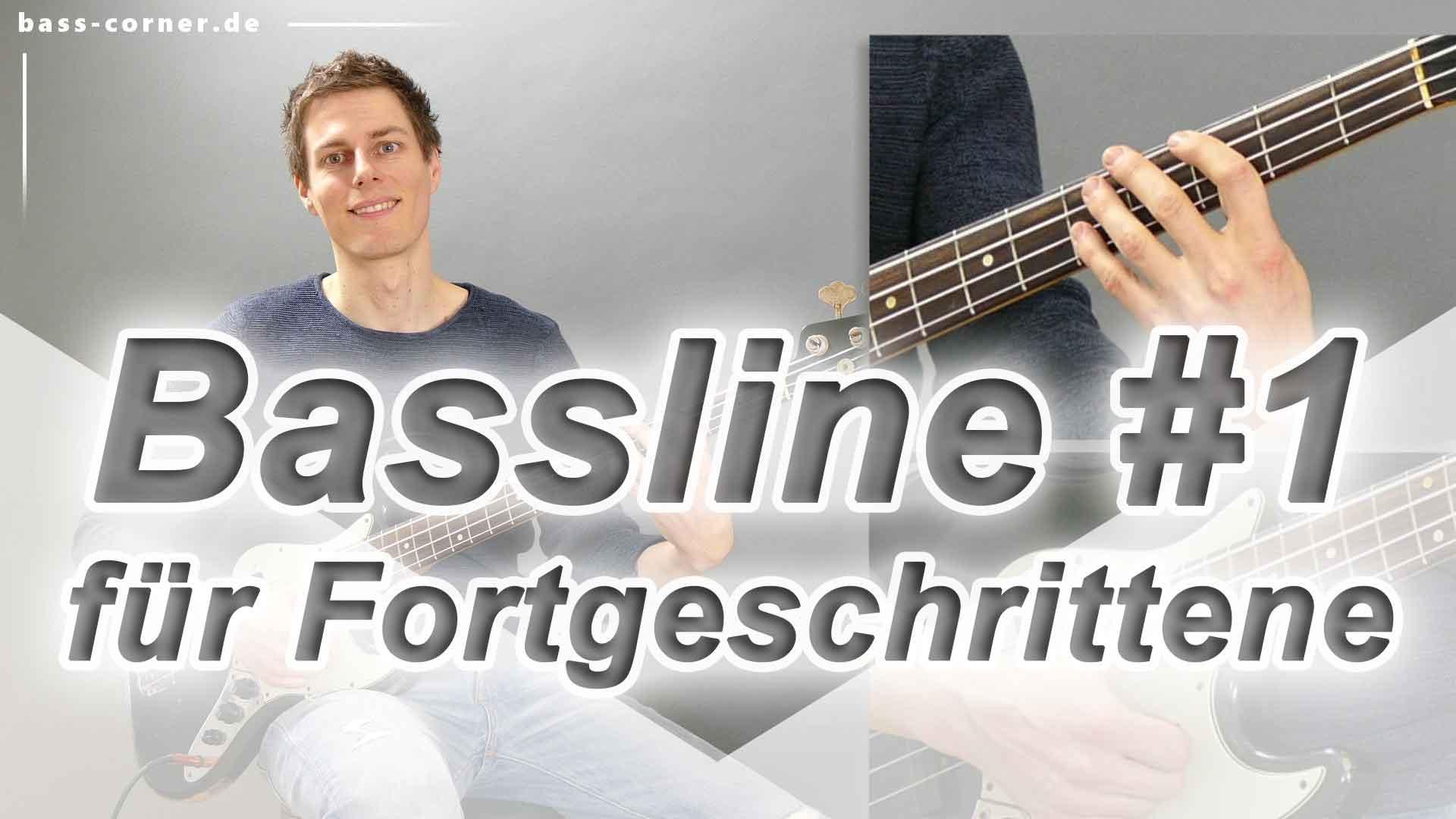 Hier sollte ein Bild stehen:Bassline 1 für Fortgeschrittene