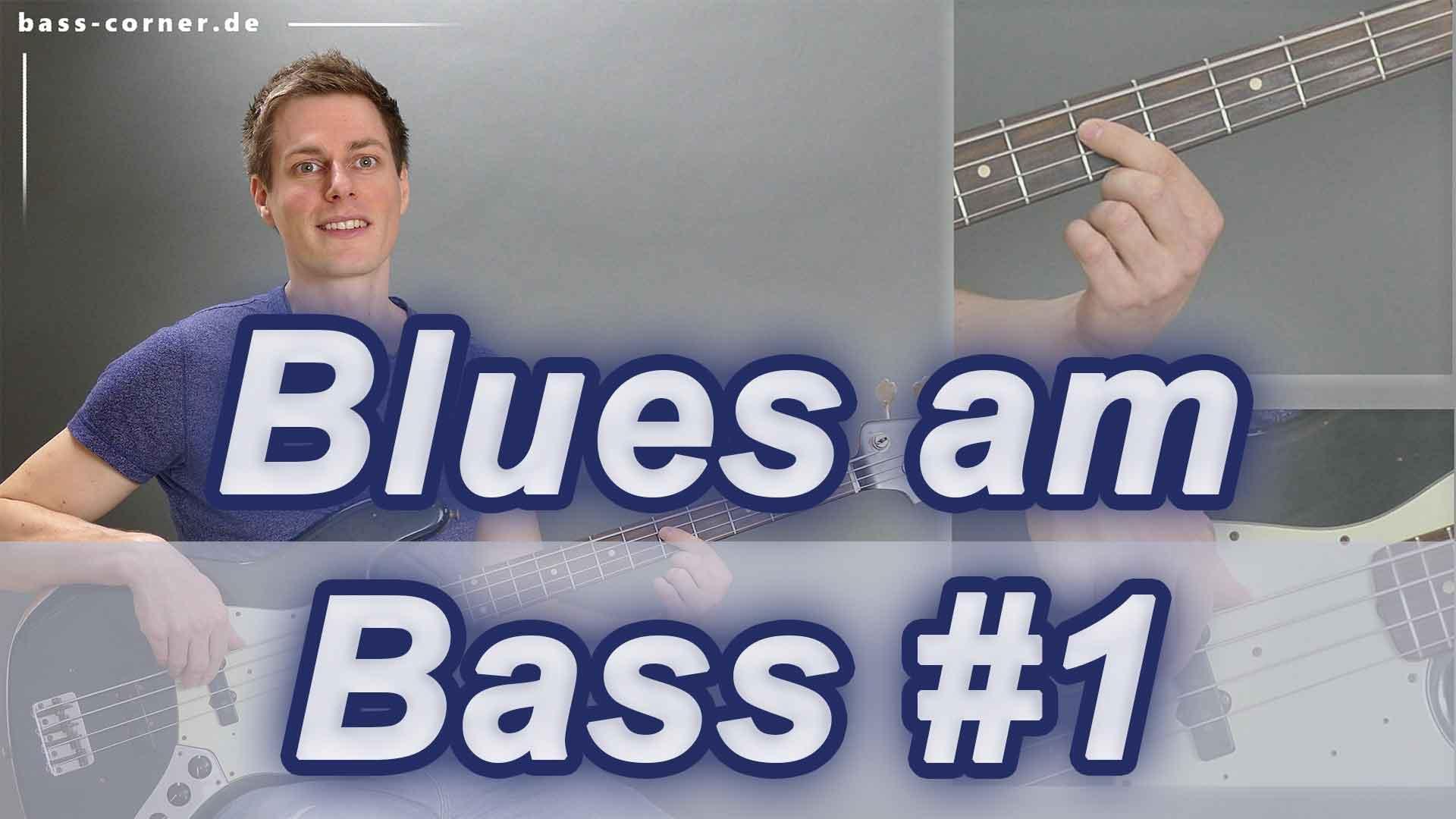 Hier sollte ein Bild stehen: Blues am E-Bass lernen Teil 1