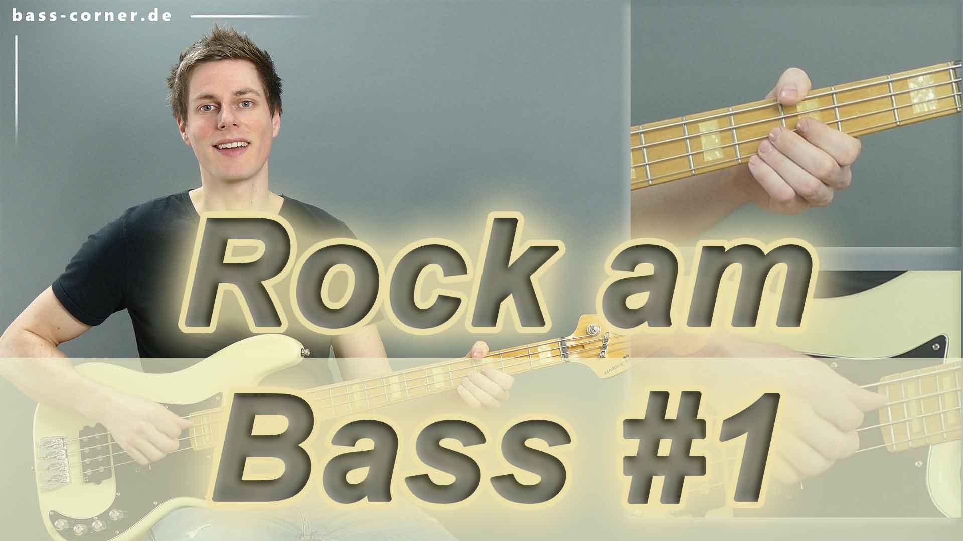 Hier sollte ein Bild stehen: Rock am E-Bass lernen Teil 1